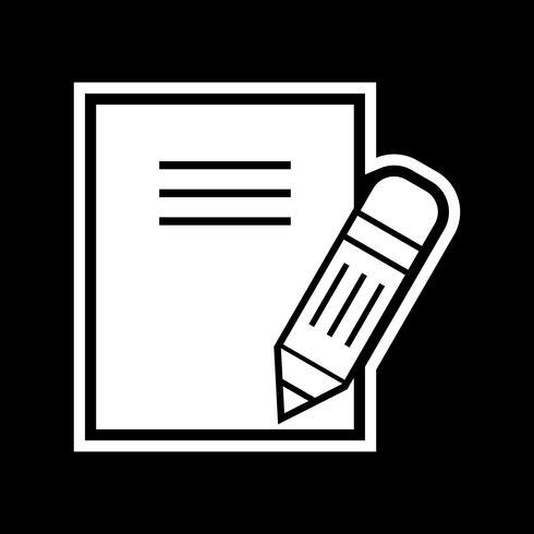 anteckningar ikon design