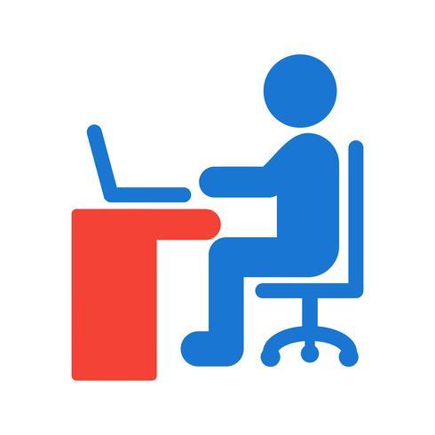 Utilizzando Laptop Icon Design