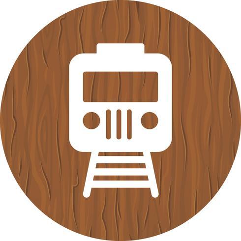 Diseño de iconos de trenes