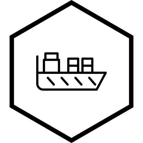 disegno dell'icona della nave