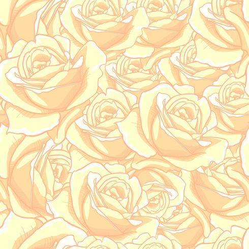 Nam Naadloos patroon toe, bloeit naadloos patroon, vector bloemen naadloos patroon