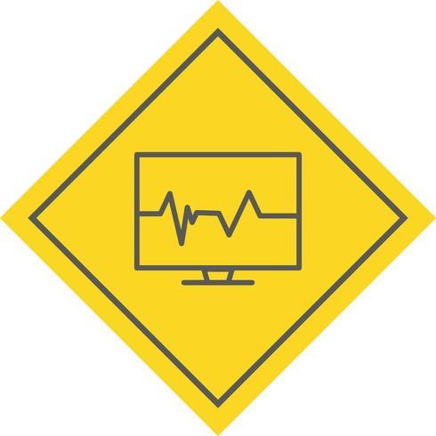 Diseño de icono de pulso