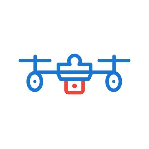 Drohne Icon Design