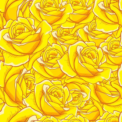 Rose Seamless pattern, flower seamless pattern, vector floral seamless pattern