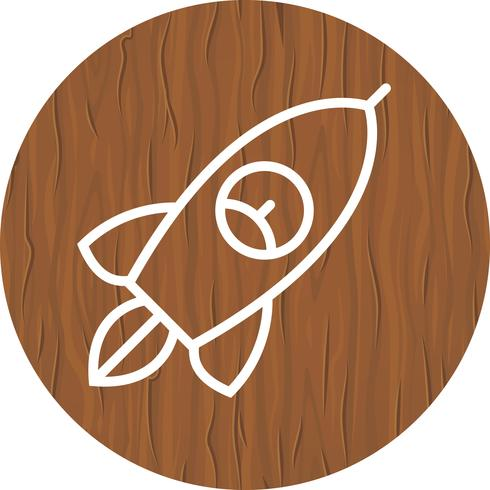 diseño de icono de cohete