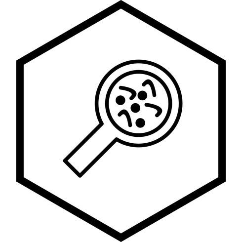 Bacteriën pictogram ontwerp