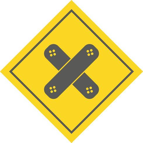 disegno dell'icona dell'aiuto di banda