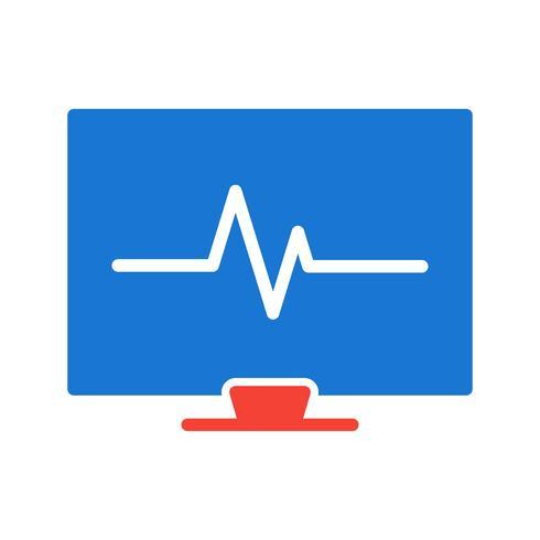Disegno dell'icona ECG