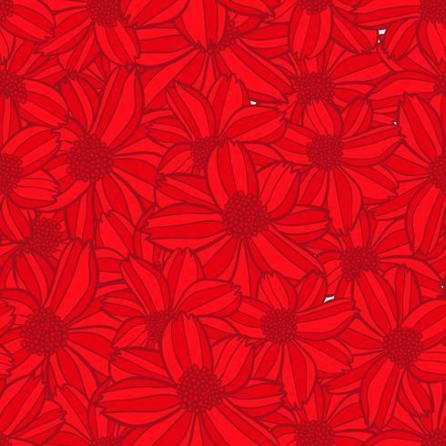 padrão sem emenda de flor, textura de fundo flor, padrão floral sem emenda