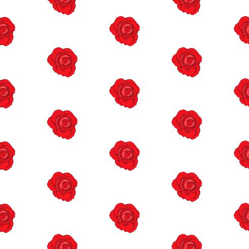 flower rose seamless pattern, vector floral rose seamless pattern, flower background