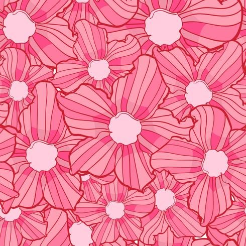 flower seamless pattern, flower background texture, floral seamless pattern vector