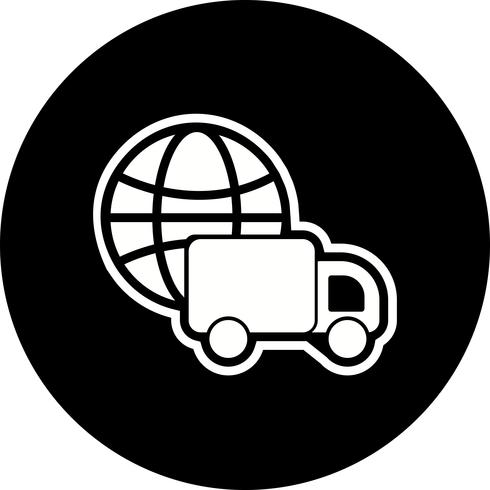 Global Delivery Icon Design
