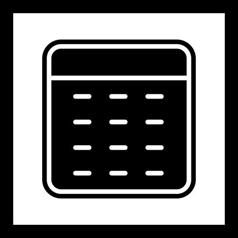 Calcolatrice Icon Design