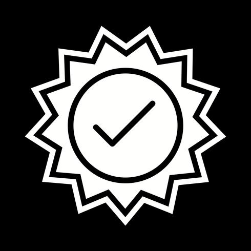 Valid Stamp Icon Design