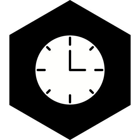 Diseño de icono de reloj vector