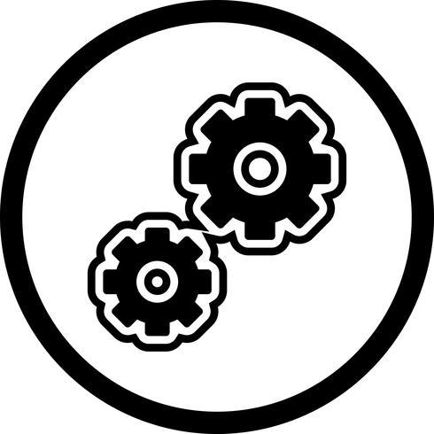 Ícone do design de configurações