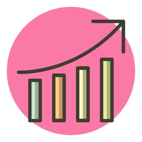 Design de ícone de desempenho de SEO vetor