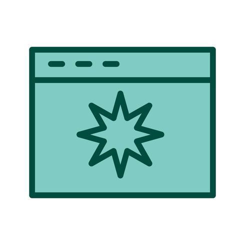 Icon-Design für die Seitenqualität