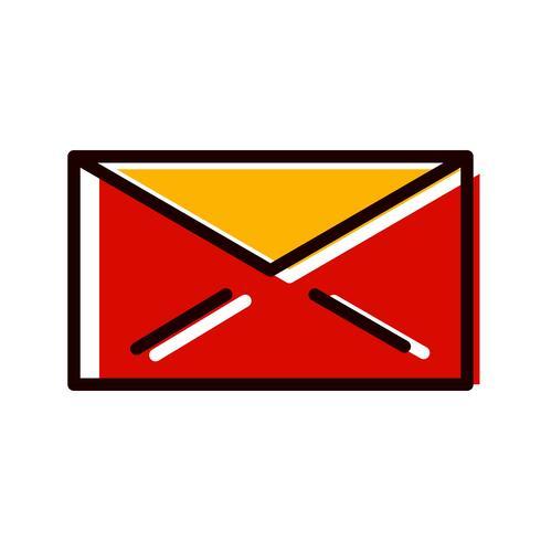 disegno dell'icona di posta elettronica