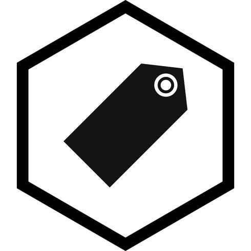 Diseño de icono de etiqueta