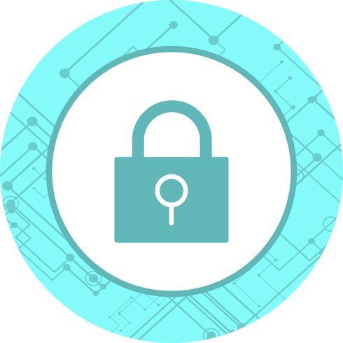 Diseño de icono de bloqueo vector