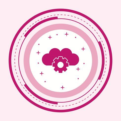 Cloud Settings Icon Design