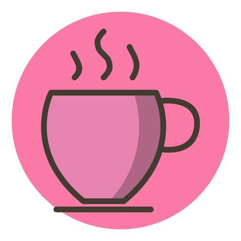 Diseño de icono de té