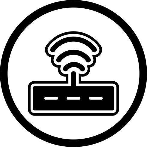 Conception d'icône de routeur