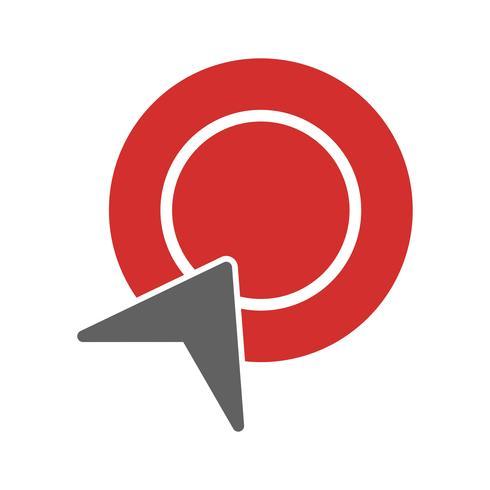 disegno dell'icona pay per click