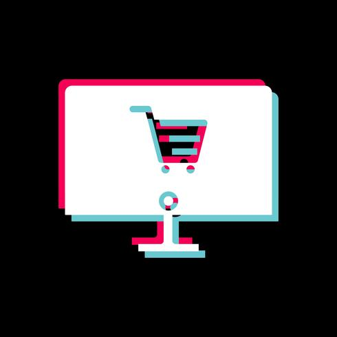Compras en línea Icon Design