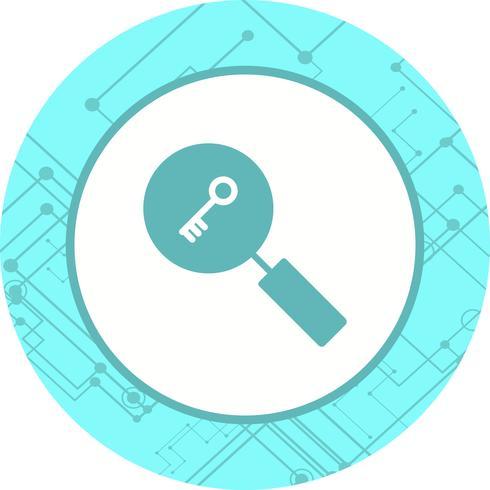 sökord ikon design
