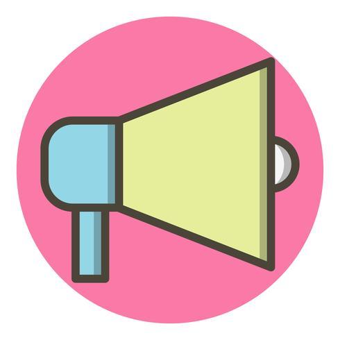 Design dell'icona di annuncio