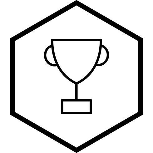Beker pictogram ontwerp