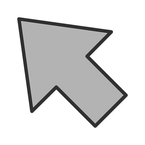 Markör Icon Design vektor