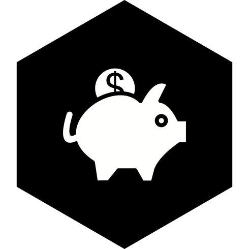 Sparschwein-Icon-Design