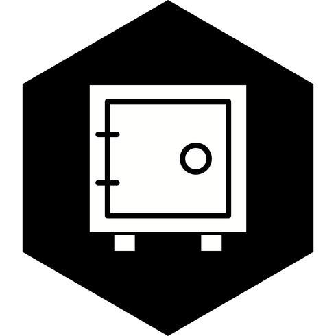 conception d'icône de coffre