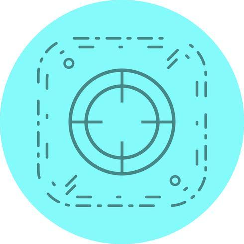 design d'icône cible vecteur