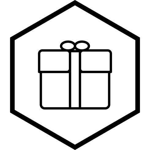 Disegno dell'icona del regalo