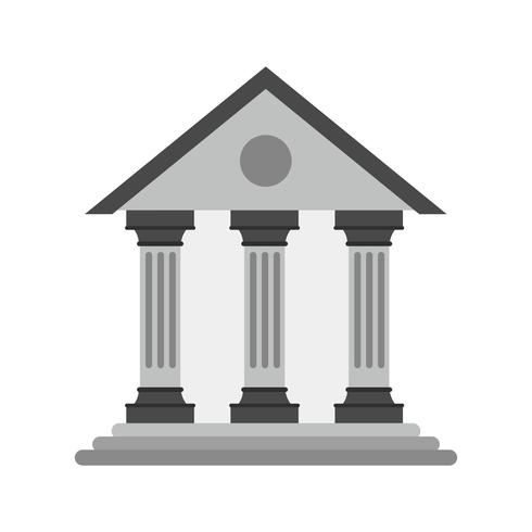 Bank Icon Design vector