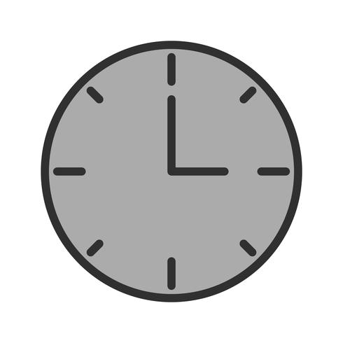Uhr-Icon-Design