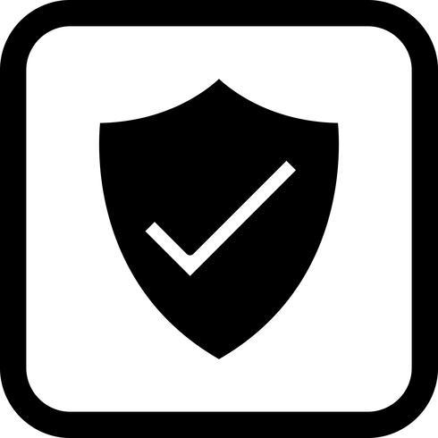 sköld ikon design