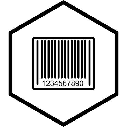Barcode pictogram ontwerp vector