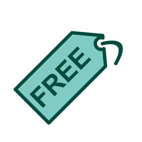 Free Tag Icon Design vector