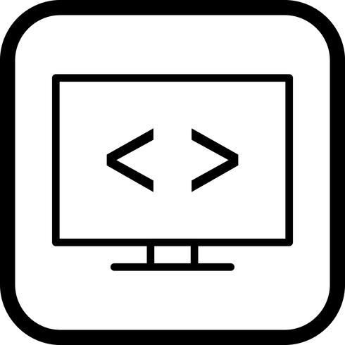 Code optimization Icon Design vector