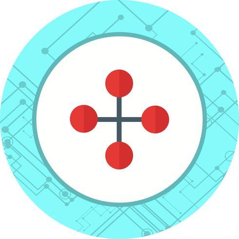 länk byggnad ikon design vektor
