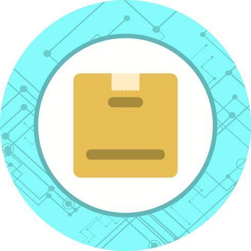 Pakket pictogram ontwerp
