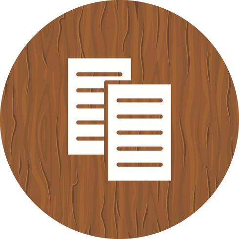 Files Icon Design vector