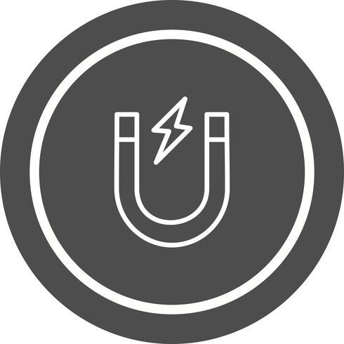 Magnet Icon Design vector