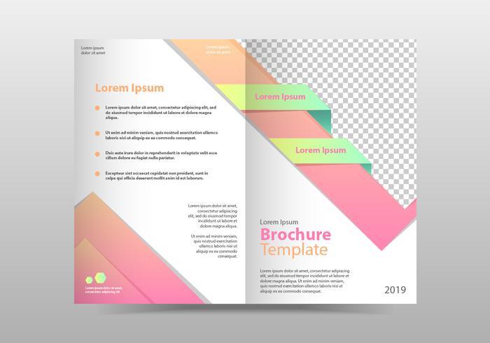 Company Brochure Template Vector