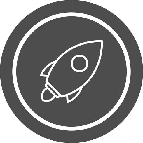 Lanzar Icon Design vector